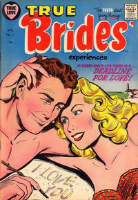Cover Thumbnail for True Brides' Experiences (Harvey, 1954 series) #11