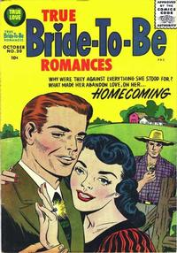 Cover Thumbnail for True Bride-to-Be Romances (Harvey, 1956 series) #20