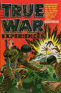Cover Thumbnail for True War Experiences (Harvey, 1952 series) #4