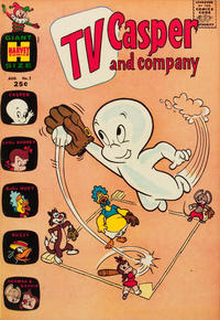 Cover Thumbnail for TV Casper & Company (Harvey, 1963 series) #1