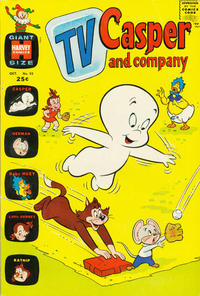 Cover Thumbnail for TV Casper & Company (Harvey, 1963 series) #33