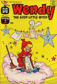 Cover Thumbnail for Wendy, the Good Little Witch (Harvey, 1960 series) #15