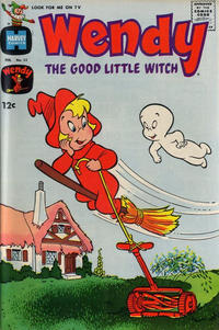 Cover Thumbnail for Wendy, the Good Little Witch (Harvey, 1960 series) #52