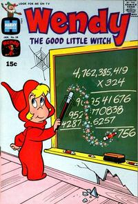 Cover Thumbnail for Wendy, the Good Little Witch (Harvey, 1960 series) #58