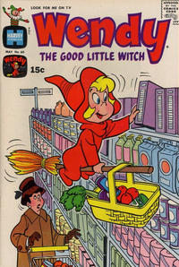 Cover Thumbnail for Wendy, the Good Little Witch (Harvey, 1960 series) #60