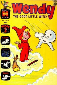 Cover Thumbnail for Wendy, the Good Little Witch (Harvey, 1960 series) #70