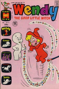 Cover Thumbnail for Wendy, the Good Little Witch (Harvey, 1960 series) #71