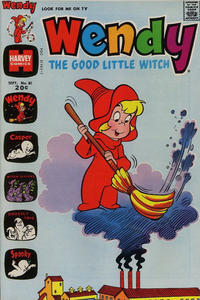 Cover Thumbnail for Wendy, the Good Little Witch (Harvey, 1960 series) #81