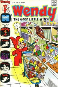 Cover Thumbnail for Wendy, the Good Little Witch (Harvey, 1960 series) #82