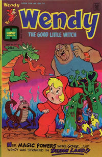 Cover Thumbnail for Wendy, the Good Little Witch (Harvey, 1960 series) #89