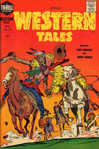 Cover Thumbnail for Witches Western Tales (Harvey, 1955 series) #30