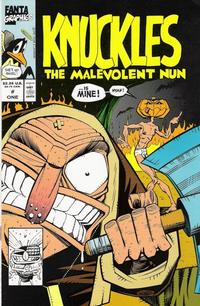 Cover Thumbnail for Knuckles the Malevolent Nun (Fantagraphics, 1991 series) #1