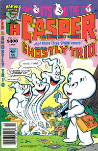 Cover Thumbnail for Casper and the Ghostly Trio (Harvey, 1990 series) #9