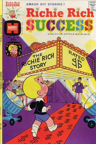 Cover for Richie Rich Success Stories (Harvey, 1964 series) #59