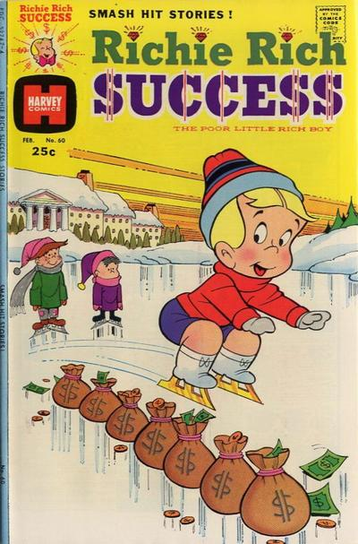 Cover for Richie Rich Success Stories (Harvey, 1964 series) #60