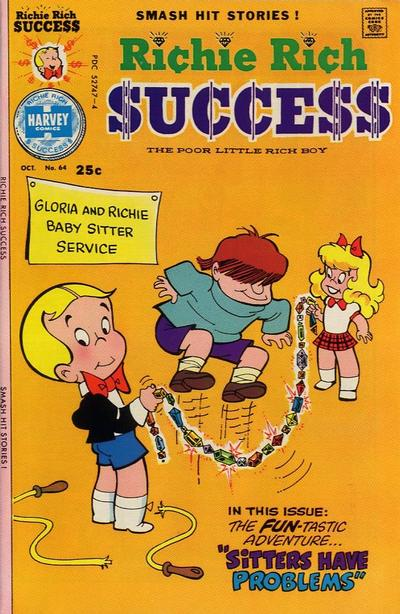 Cover for Richie Rich Success Stories (Harvey, 1964 series) #64