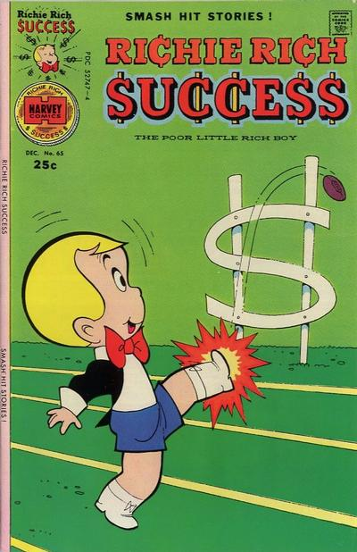 Cover for Richie Rich Success Stories (Harvey, 1964 series) #65
