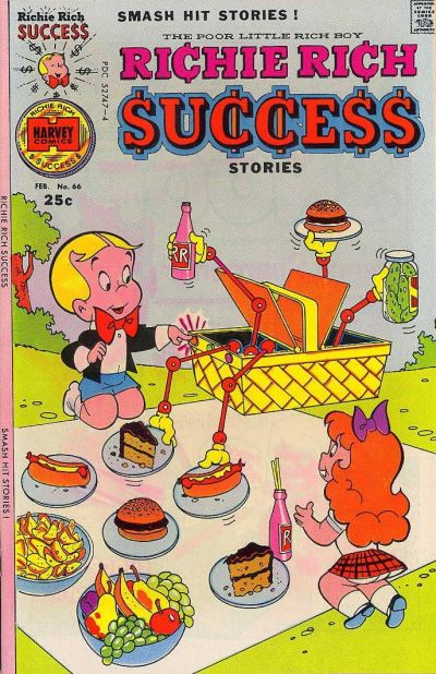 Cover for Richie Rich Success Stories (Harvey, 1964 series) #66