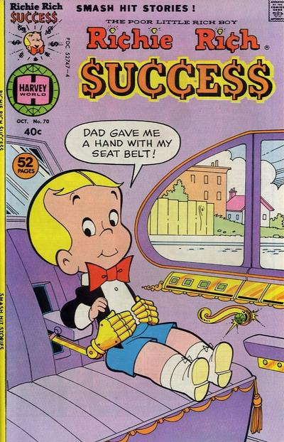 Cover for Richie Rich Success Stories (Harvey, 1964 series) #70