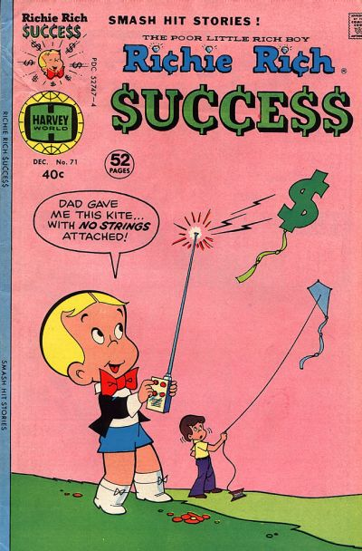 Cover for Richie Rich Success Stories (Harvey, 1964 series) #71