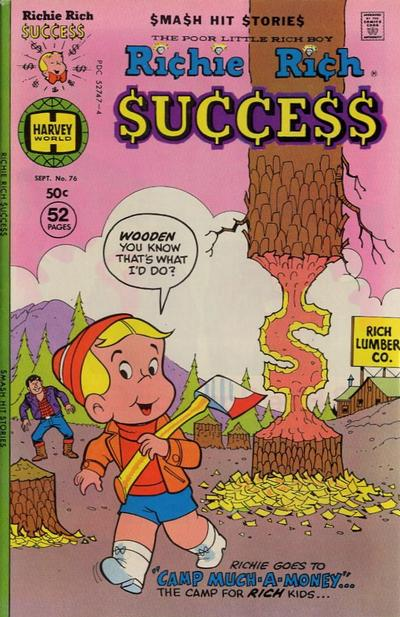Cover for Richie Rich Success Stories (Harvey, 1964 series) #76