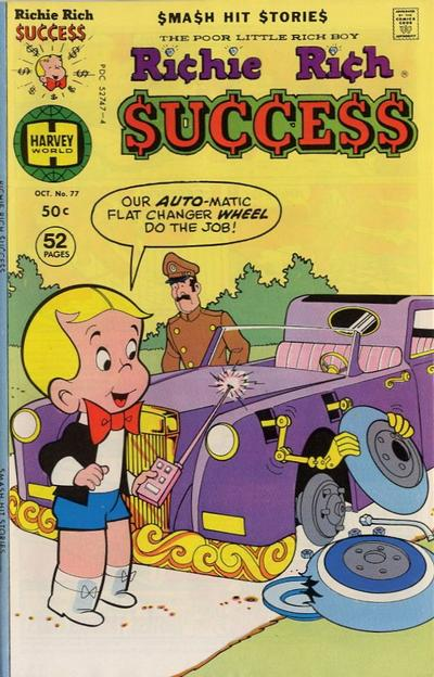 Cover for Richie Rich Success Stories (Harvey, 1964 series) #77