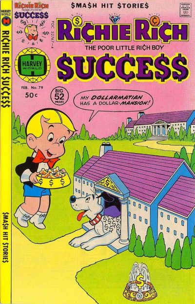 Cover for Richie Rich Success Stories (Harvey, 1964 series) #79