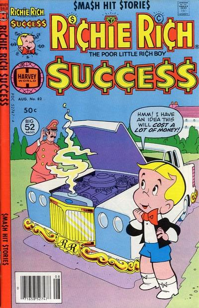 Cover for Richie Rich Success Stories (Harvey, 1964 series) #82