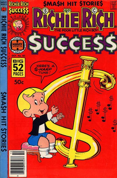 Cover for Richie Rich Success Stories (Harvey, 1964 series) #83