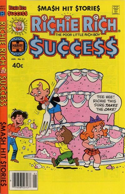 Cover for Richie Rich Success Stories (Harvey, 1964 series) #91