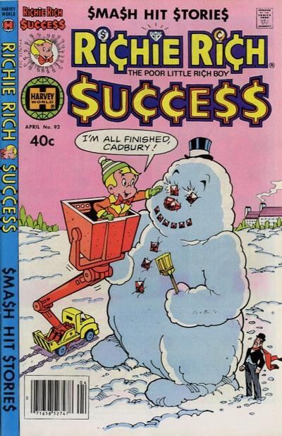 Cover for Richie Rich Success Stories (Harvey, 1964 series) #92