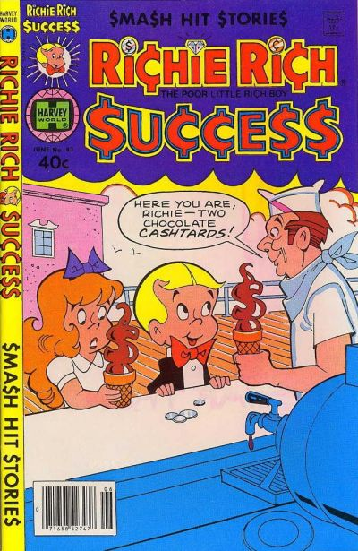 Cover for Richie Rich Success Stories (Harvey, 1964 series) #93