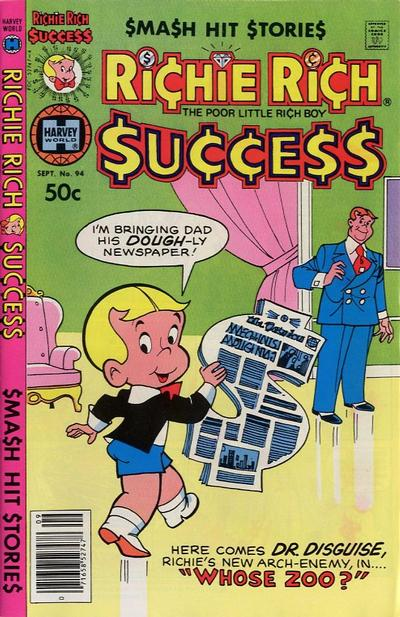 Cover for Richie Rich Success Stories (Harvey, 1964 series) #94