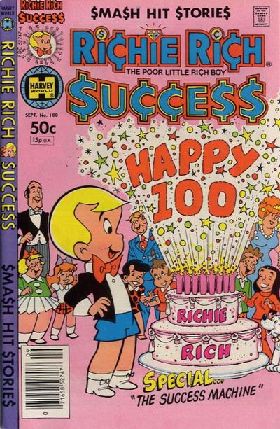 Cover for Richie Rich Success Stories (Harvey, 1964 series) #100