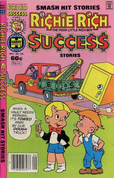 Cover for Richie Rich Success Stories (Harvey, 1964 series) #105