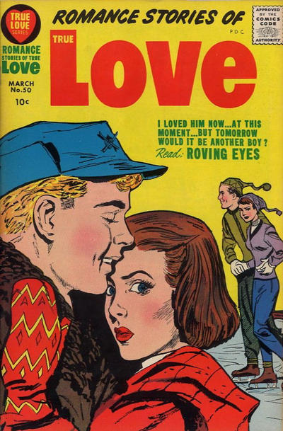 Cover for Romance Stories of True Love (Harvey, 1957 series) #50