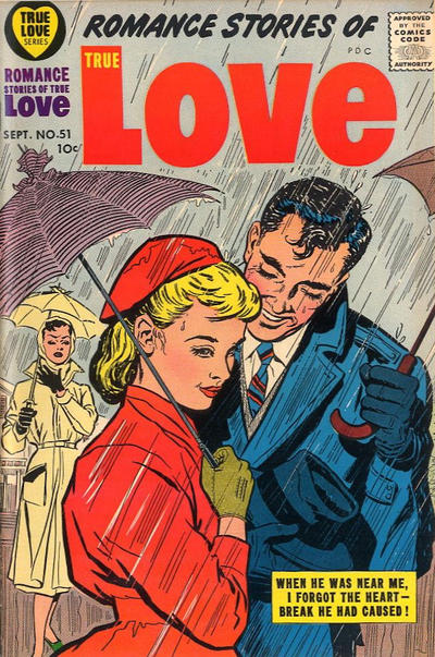 Cover for Romance Stories of True Love (Harvey, 1957 series) #51