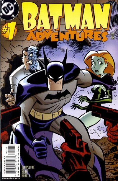 Cover for Batman Adventures (DC, 2003 series) #1