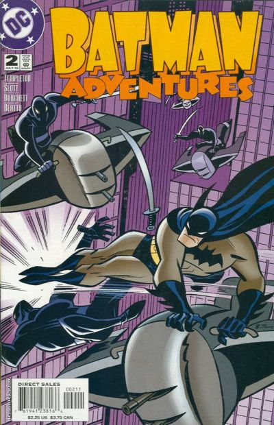 Cover for Batman Adventures (DC, 2003 series) #2
