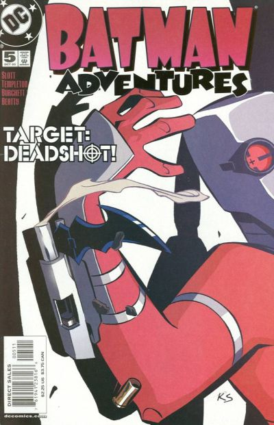 Cover for Batman Adventures (DC, 2003 series) #5