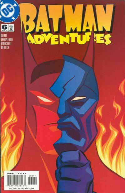 Cover for Batman Adventures (DC, 2003 series) #6
