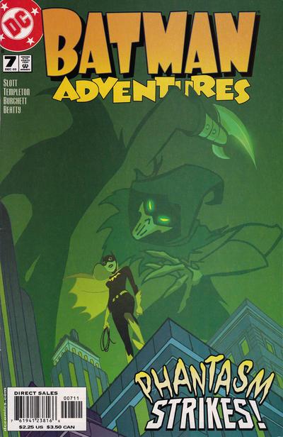 Cover for Batman Adventures (DC, 2003 series) #7