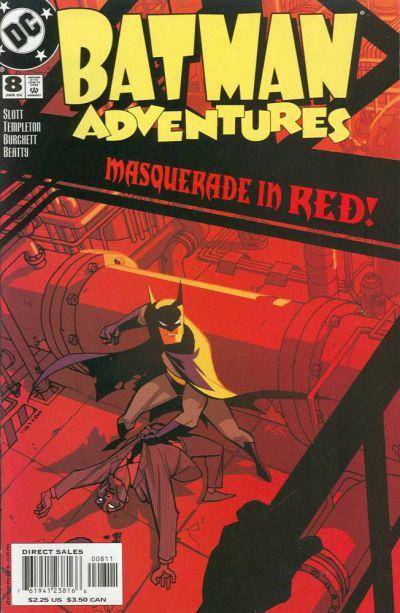 Cover for Batman Adventures (DC, 2003 series) #8