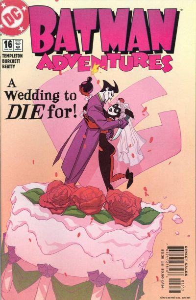 Cover for Batman Adventures (DC, 2003 series) #16