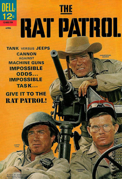 Cover for The Rat Patrol (Dell, 1967 series) #2