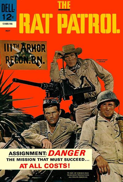 Cover for The Rat Patrol (Dell, 1967 series) #3