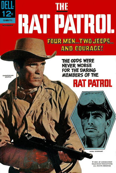Cover for The Rat Patrol (Dell, 1967 series) #5