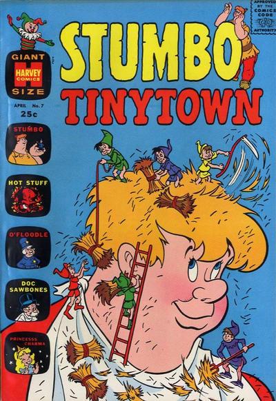 Cover for Stumbo Tinytown (Harvey, 1963 series) #7