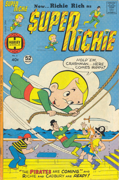 Cover for Superichie (Harvey, 1976 series) #5