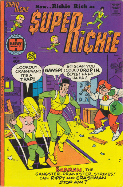 Cover for Superichie (Harvey, 1976 series) #6
